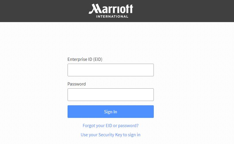 Marriott Extranet Login