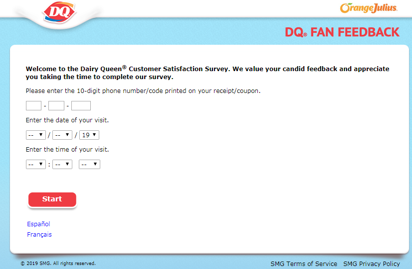 United States and Canada DQ® Fan Feedback