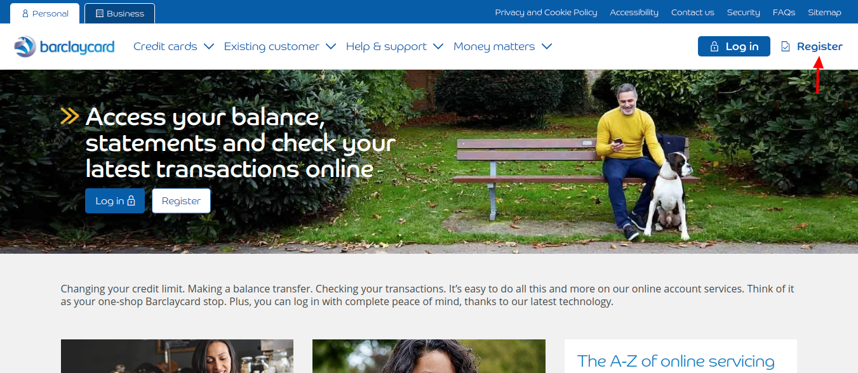 Barclaycard Register