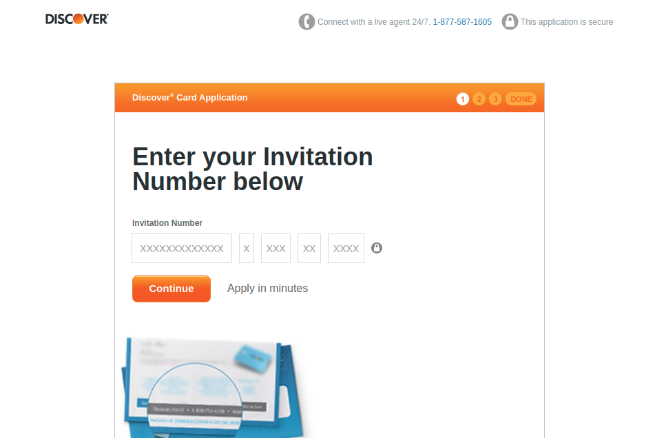 Discover Card Apply