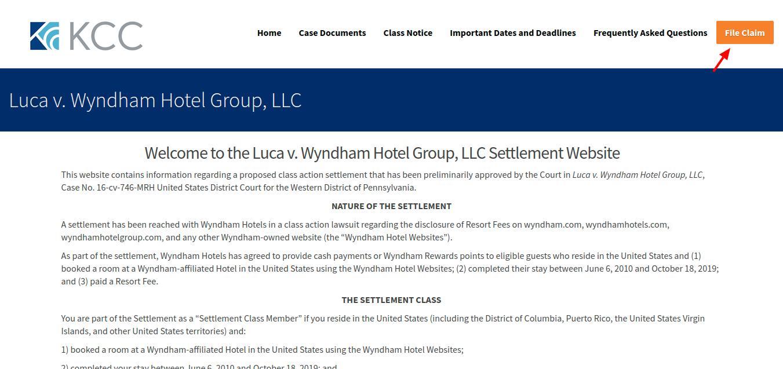 Luca v Wyndham Hotel Group LLC