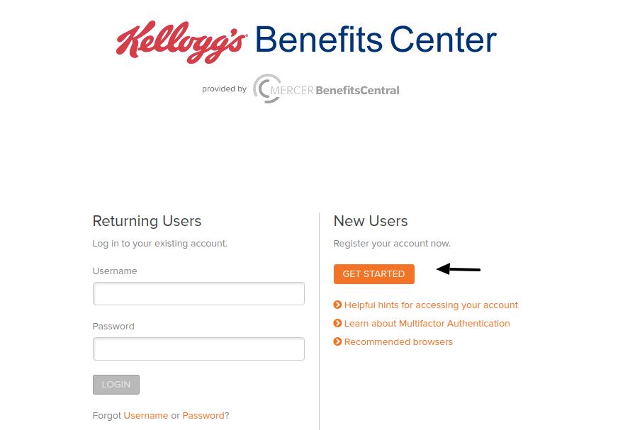 Mercer BenefitsCentral Get Started