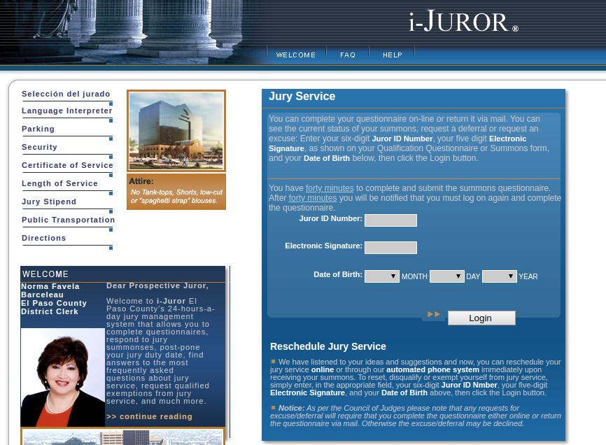 i-JUROR Logo