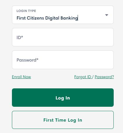 First Citizens Bank Login