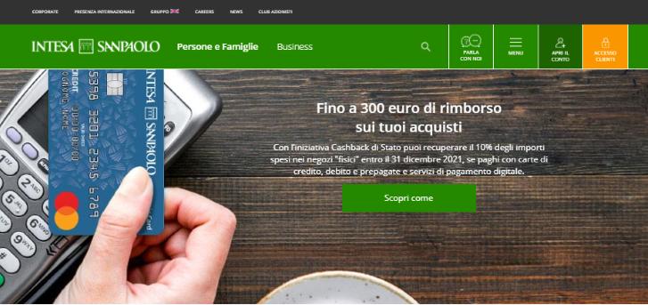Intesa-Sanpaolo Account