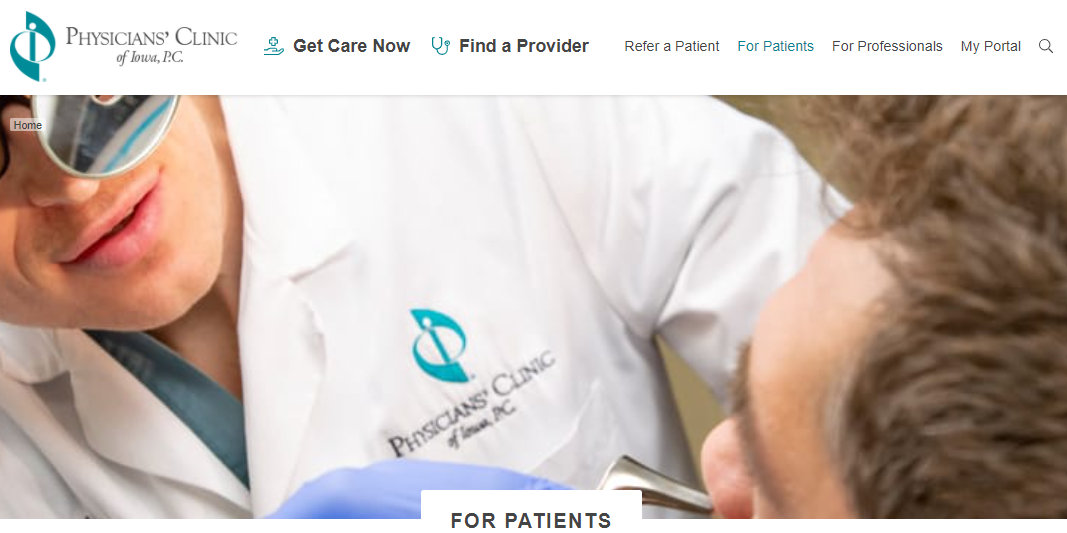 physicians clinic of iowa