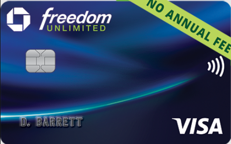 chase freedom card logo